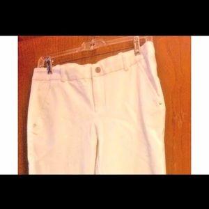 New Ralph Lauren White Pants Sz 4 Tags $145 Cruise